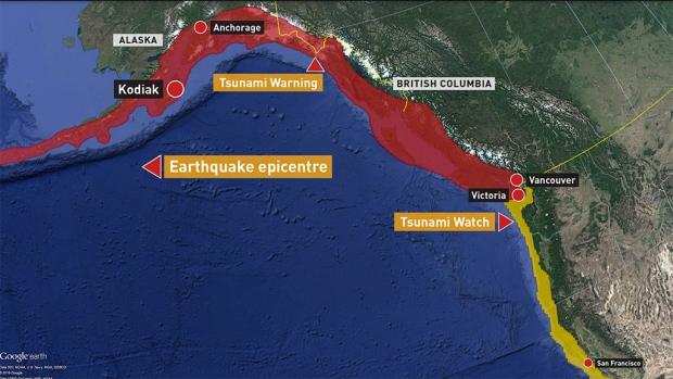 Tsunami-map