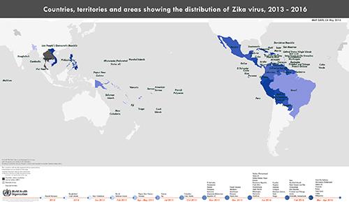 H5N1: WHO: Zika situation report, June 23 on japanese encephalitis map, powassan virus map, yellow fever map, west nile virus map,