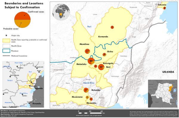 WHO: Ebola virus disease – Democratic Republic of the Congo